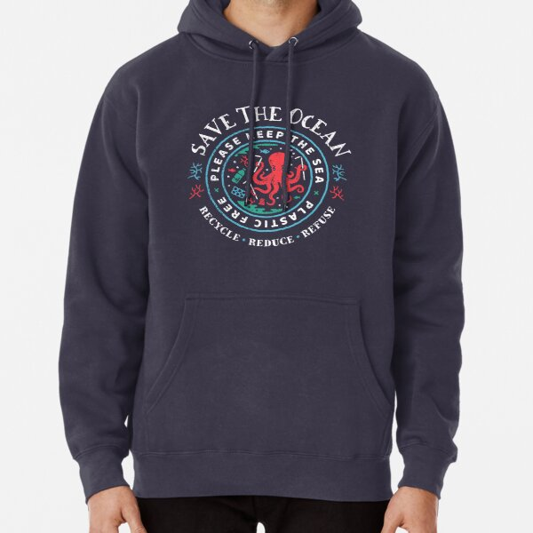 Recycling Saving The Planet one Beer Funny Drinking Vintage Hoodie