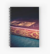 Tale of Intrigue Spiral Notebook