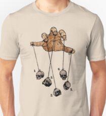 The Five Dancing Skulls Of Doom Unisex T-Shirt