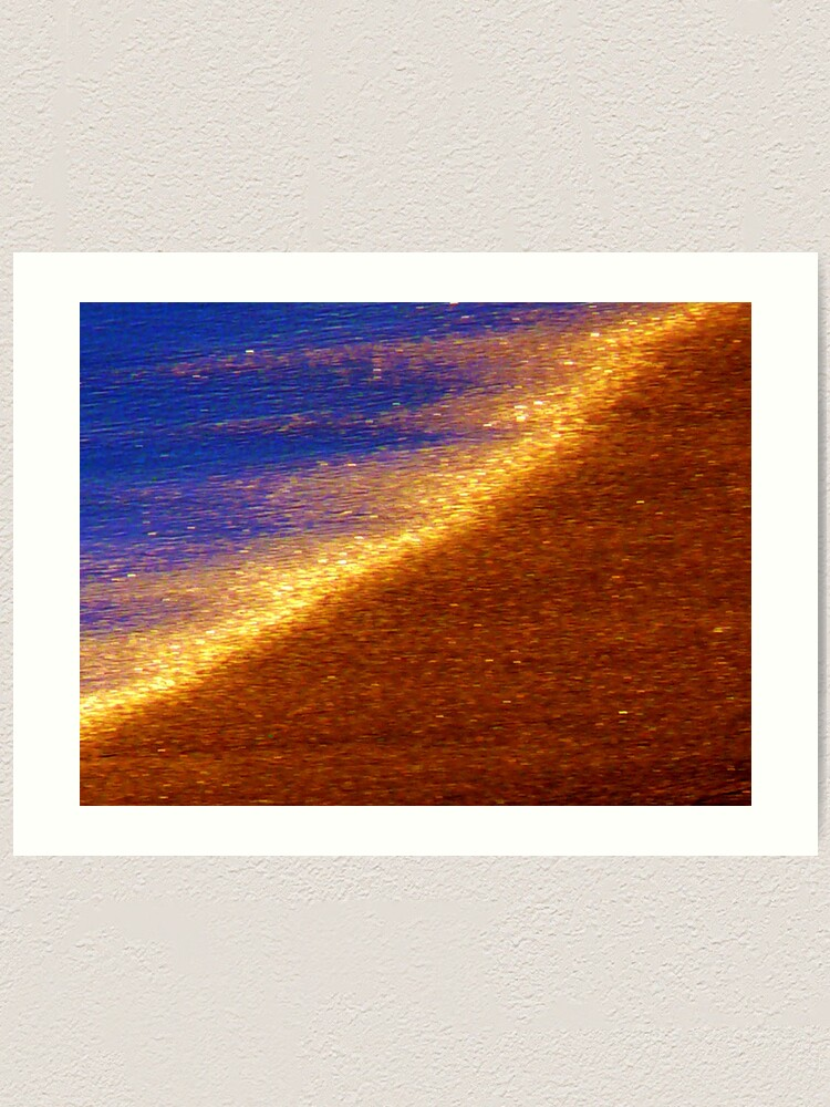 Alternate view of Sand of Gold Art Print