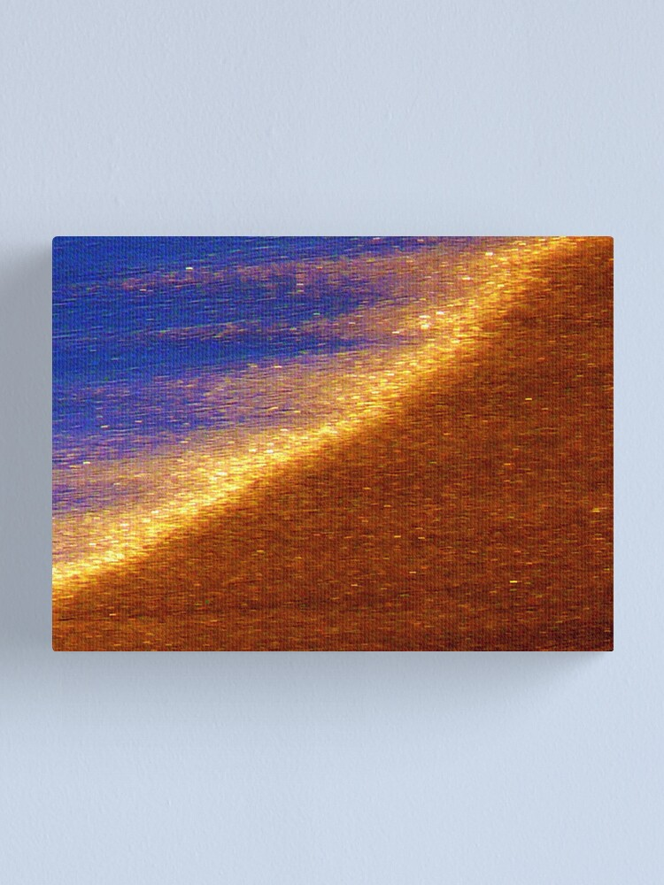 Alternate view of Sand of Gold Canvas Print