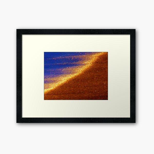Sand of Gold Framed Art Print
