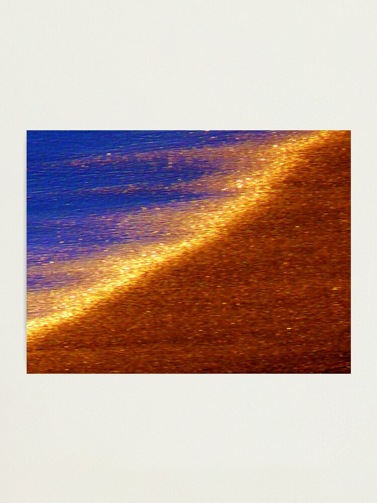 Alternate view of Sand of Gold Photographic Print