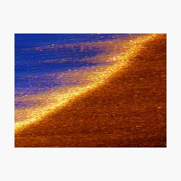 Sand of Gold Photographic Print