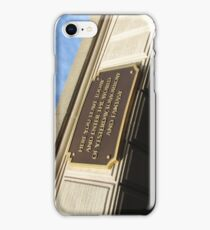 Today you leave the world ... iPhone Case/Skin