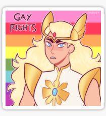 Pegatina she-ra dijo derechos gay