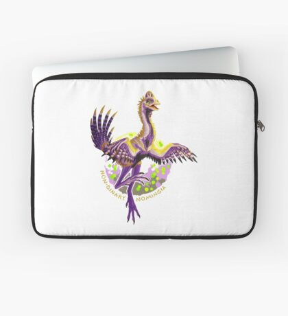 Non-binary Nomingia (with text) Laptop Sleeve
