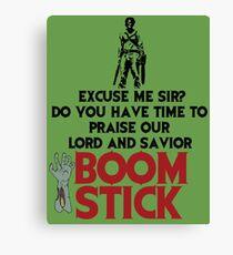 Praise Boomstick Canvas Print