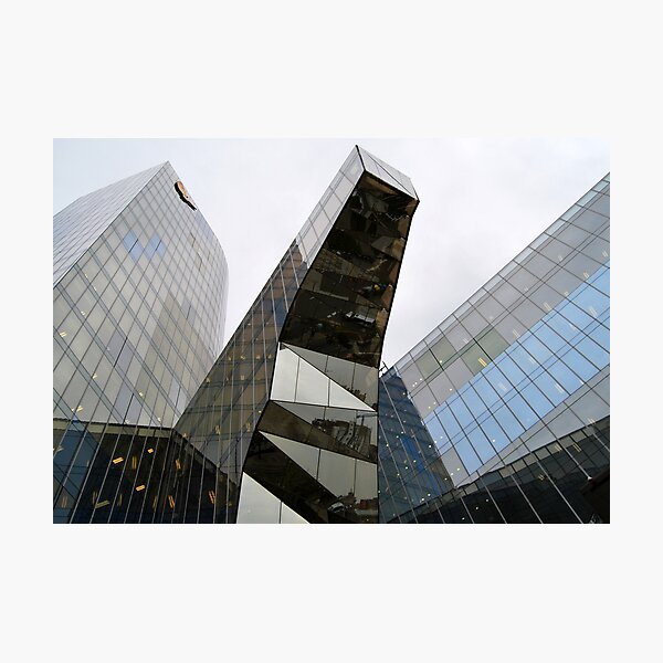 Marenostrum Tower Photographic Print