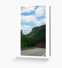Kama Mountain HIghway 17 Nipigon Ontario canada Greeting Card