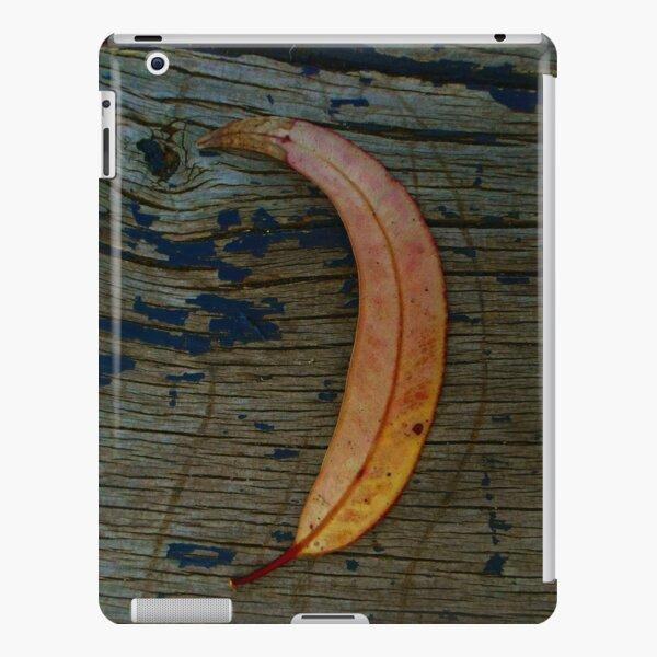 Orange Leaf on Wood Plank iPad Snap Case