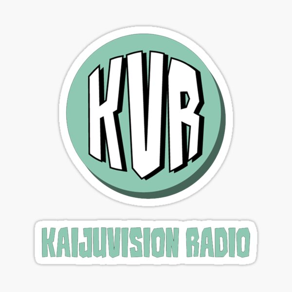 KVR Logo (Transparent) Sticker