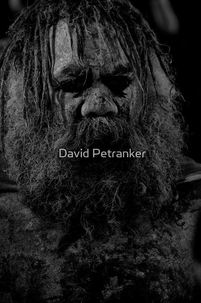 Aboriginal Warrior by David Petranker