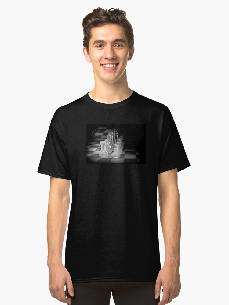 Chess Pieces Classic T-Shirt Front