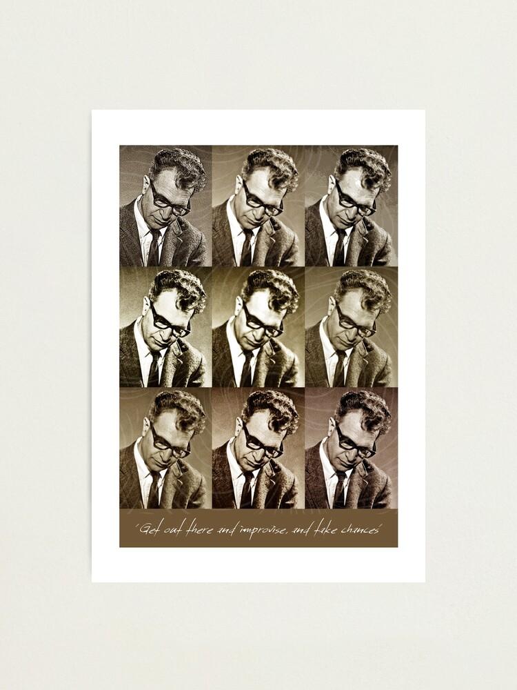 Alternate view of Jazz Heroes Series - Dave Brubeck Photographic Print
