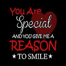 You are special smile mom gift idea by designhp