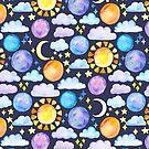 «Cielo nocturno» de Tangerine-Tane