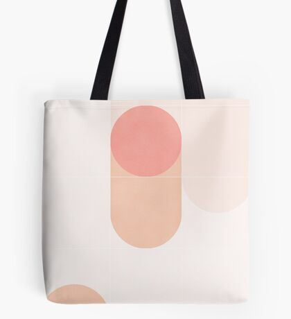 Retro Tiles 08 #redbubble #pattern Tote Bag