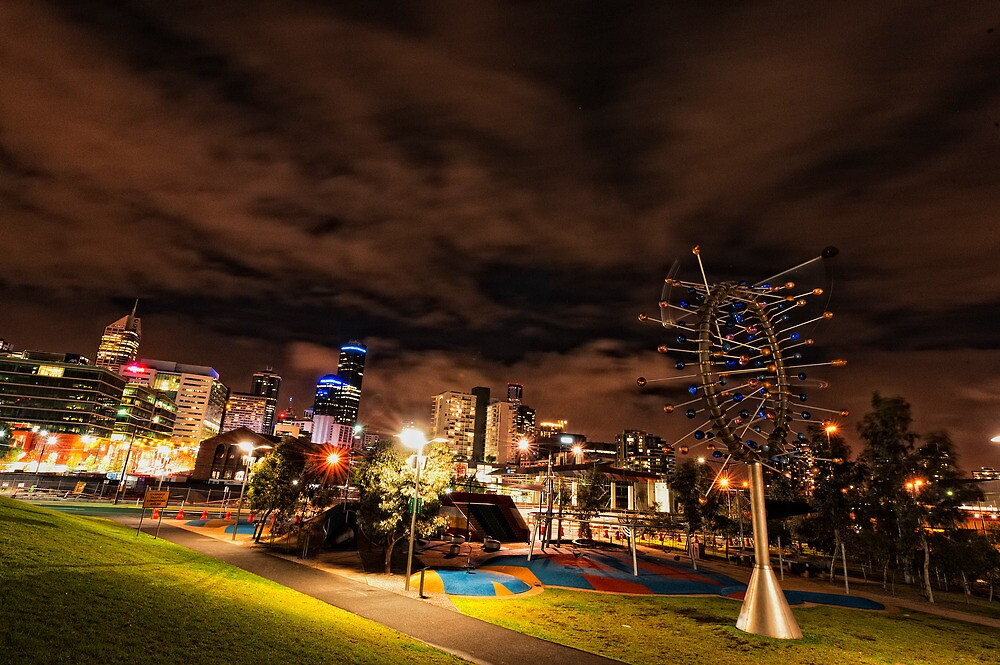 Melbourne Skyline by photograham