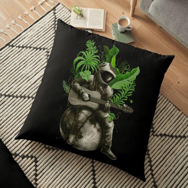 Astropical Strum Floor Pillow