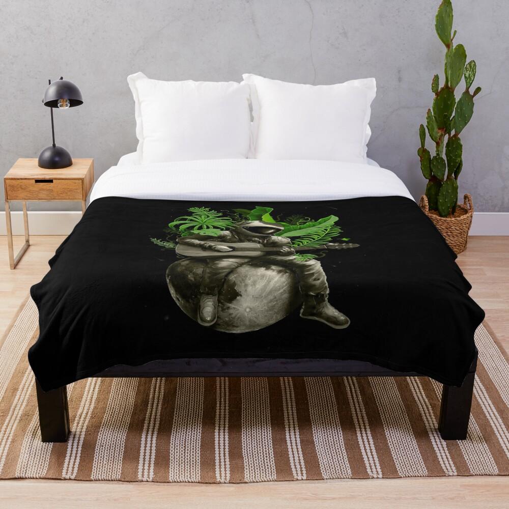 Astropical Strum Throw Blanket
