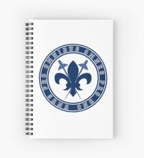 Dumas Musketeers Fencing Gear Spiral Notebook