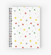 Animal Crossing New Leaf - 3DS Pattern  Spiral Notebook