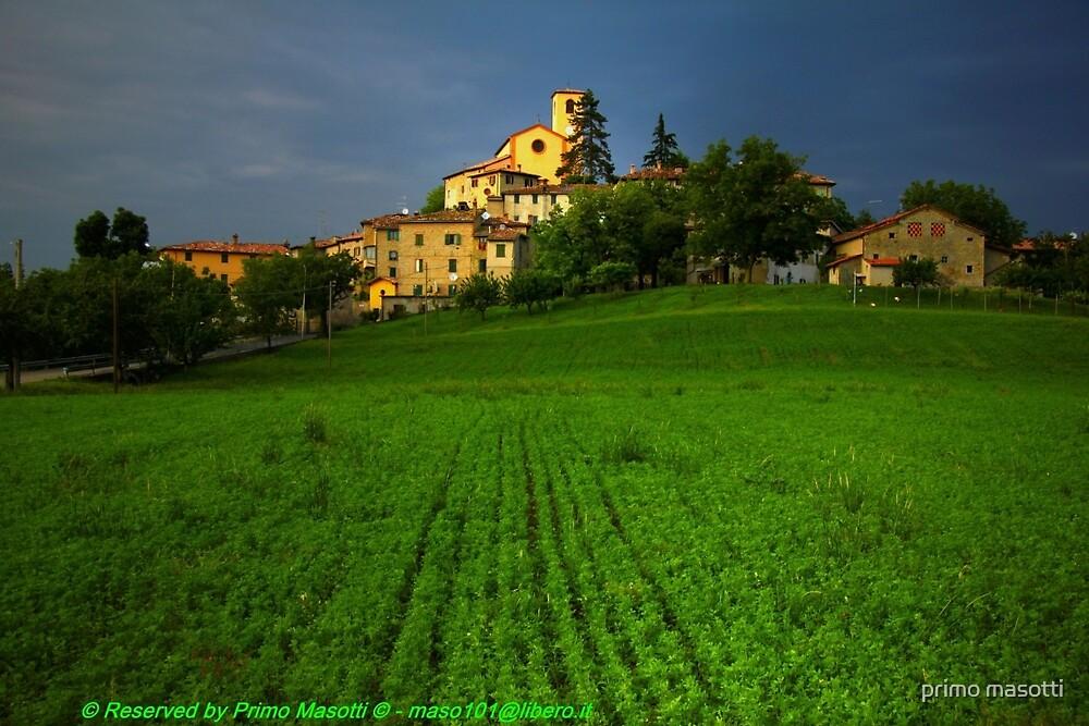 Sunset Tramonto, Montecorone - ( zocca modena italy ) by primo masotti