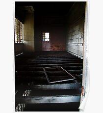 Abandoned - Woogaroo Lunatic Asylum Poster