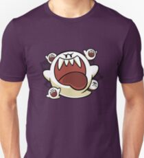 Vintage Super Mario World - Boo Ghost Unisex T-Shirt