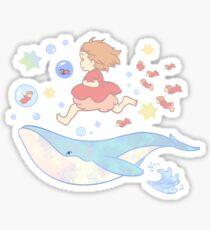 Ponyo Sticker