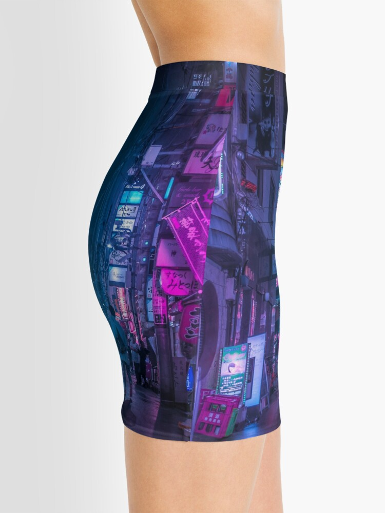 Alternate view of Tokyo Neo Future Cyberpunk Mini Skirt