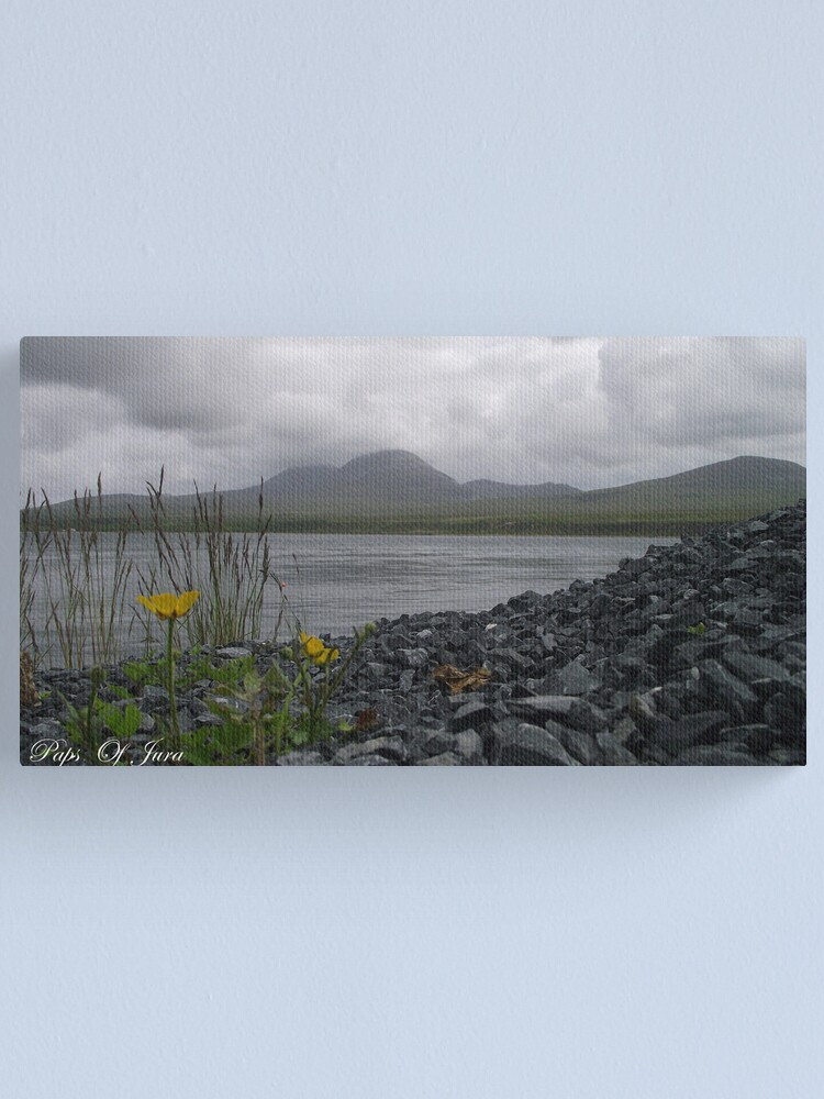Alternate view of Paps  of Jura Canvas Print