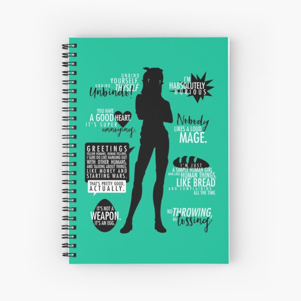 The Dragon Prince - Rayla Spiral Notebook