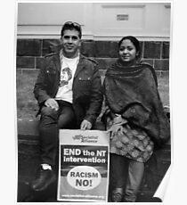Couple At Mayday March Poster