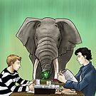 «El elefante en el cuarto» de trillianmc