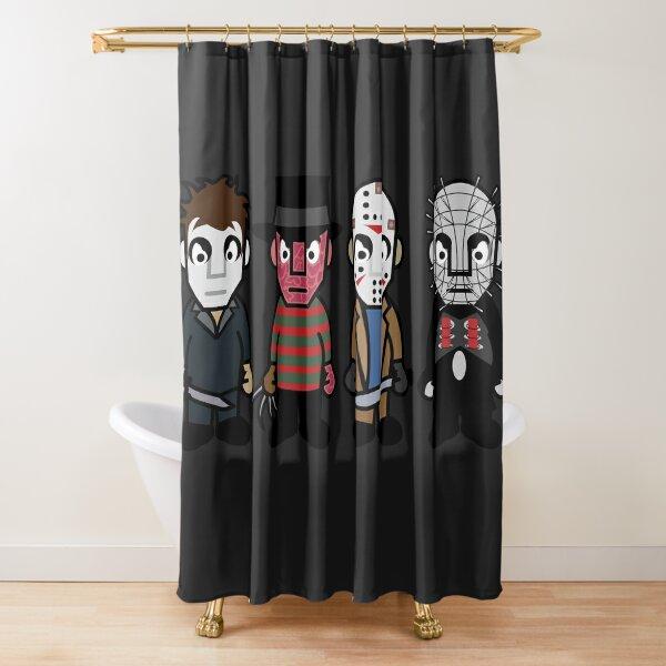 Horror Movie -  Serial Killers - Cloud Nine Shower Curtain