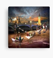 """Midnight Tour"" /London Canvas Print"
