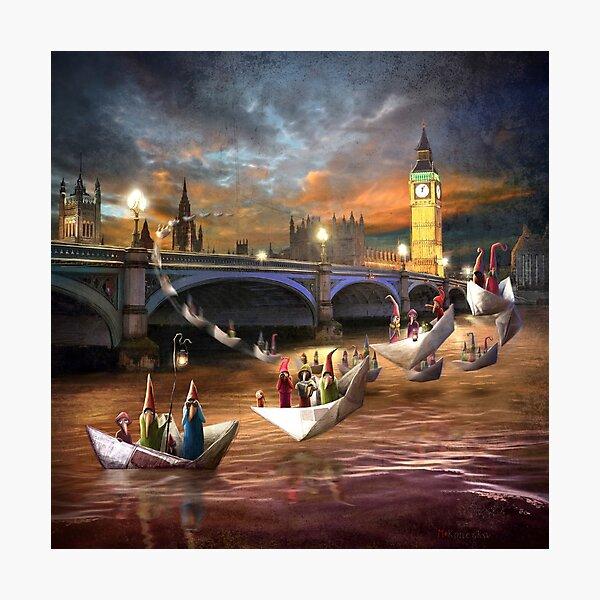 """Midnight Tour"" /London Photographic Print"