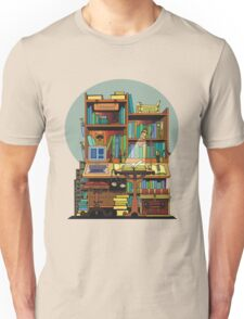 Library Study Unisex T-Shirt