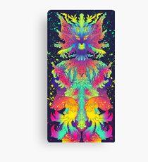 Neon Critter Canvas Print