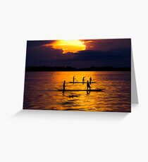The Congo River Greeting Card