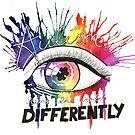 Rainbow Autism Awareness by Fiona Fletcher