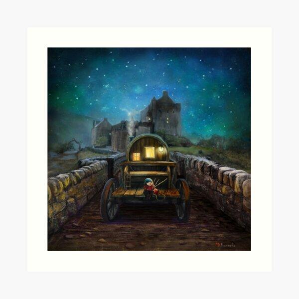 'Eilean Donan Piper Art Print