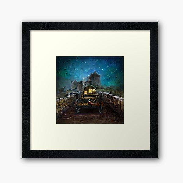 'Eilean Donan Piper Framed Art Print