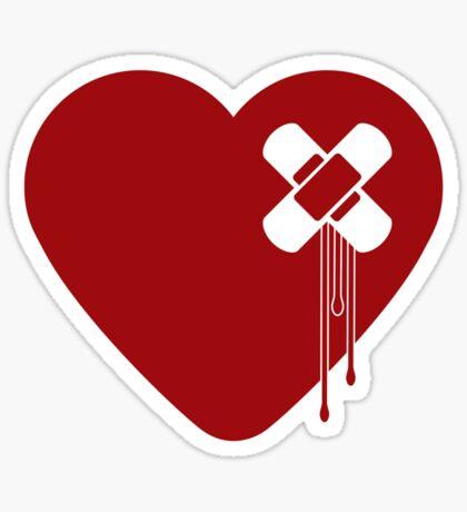 Heart Broken Sticker