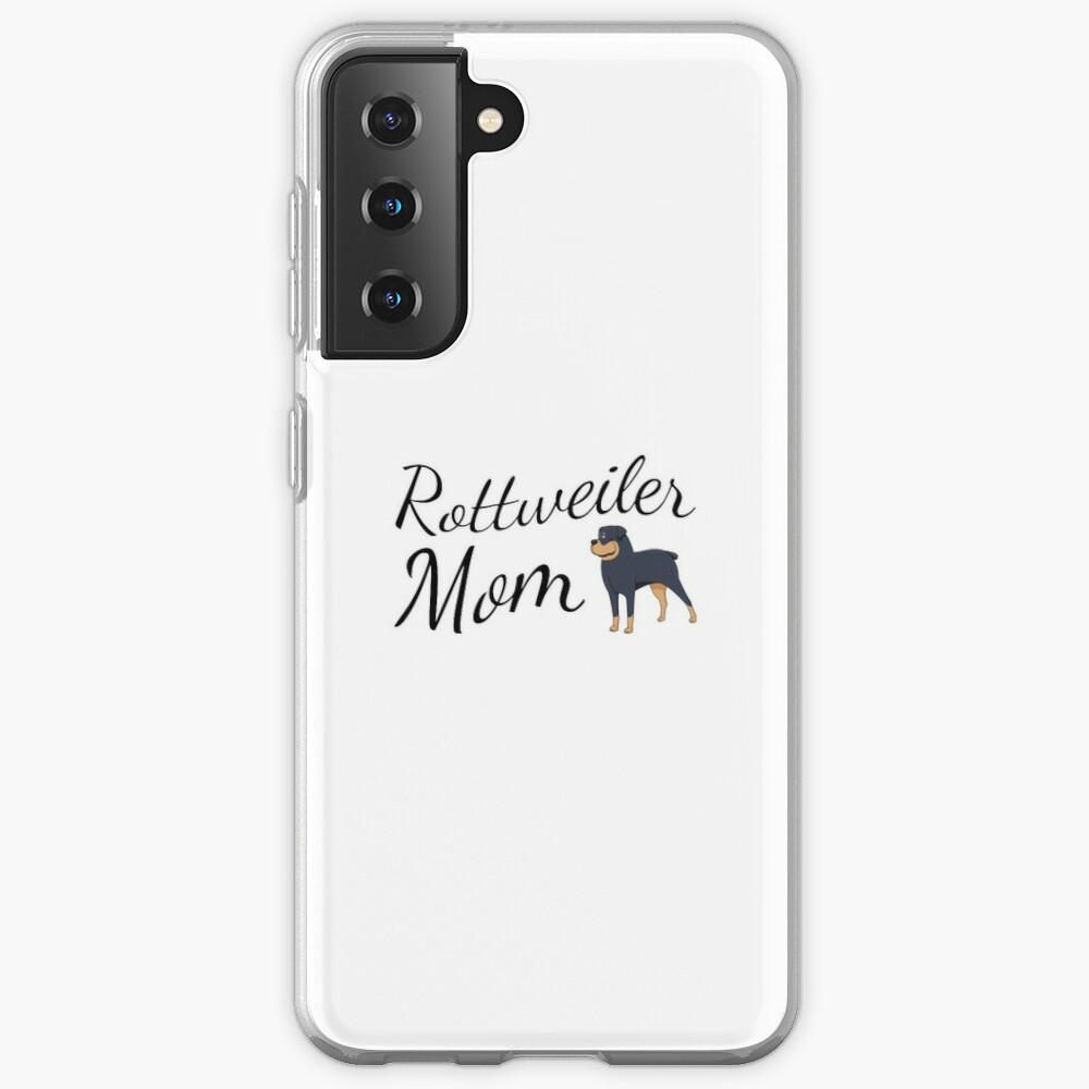 Rottweiler Mom Case & Skin for Samsung Galaxy