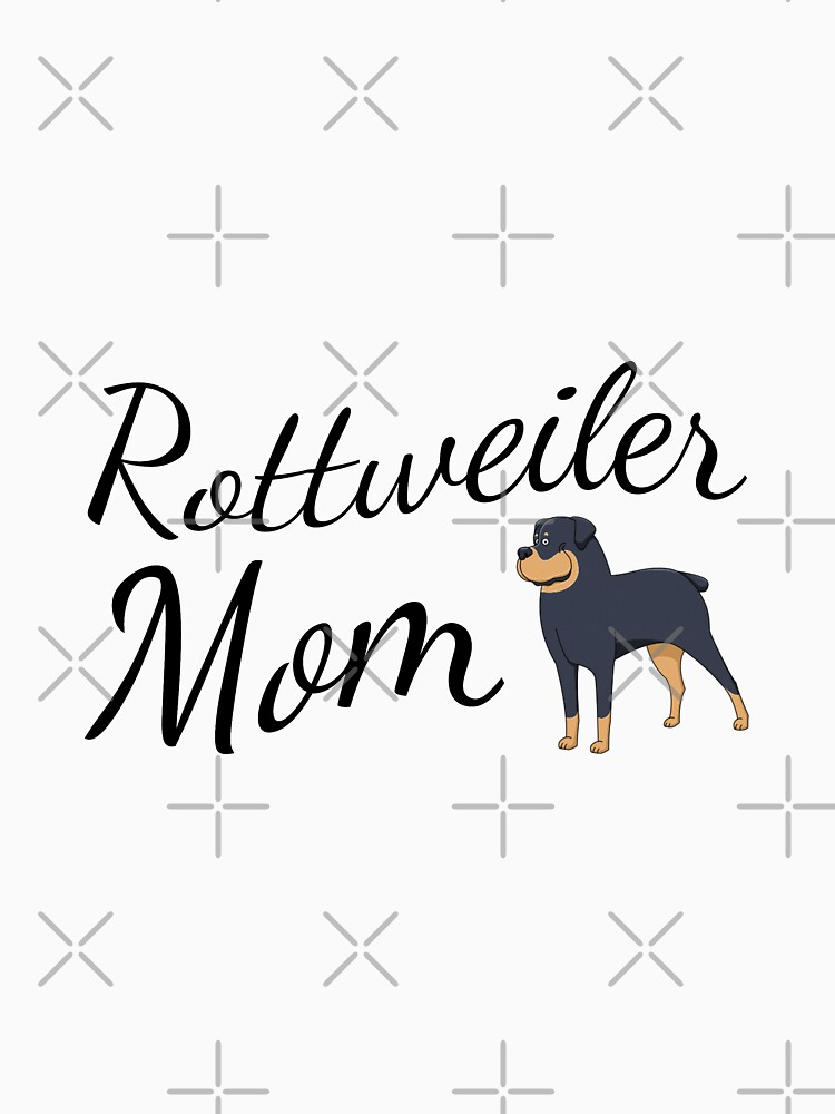 Rottweiler Mom by tribbledesign