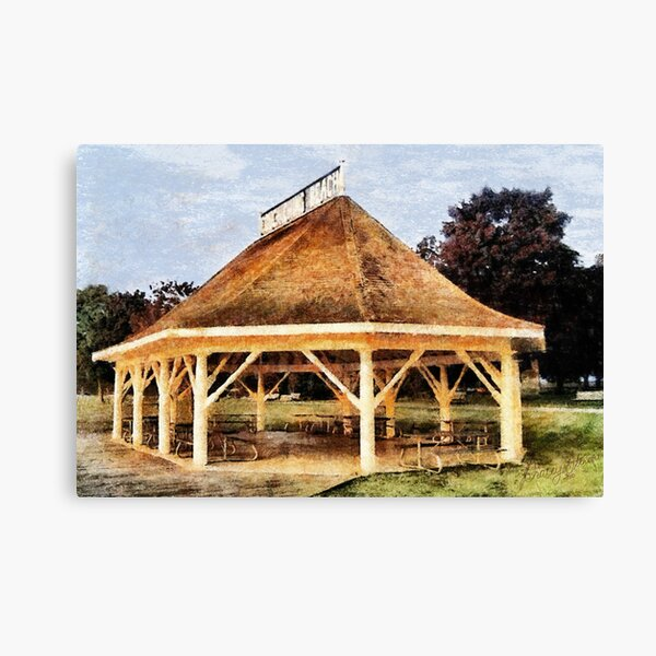 Orillia - Beach Pavilion Canvas Print