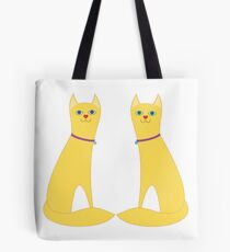 A Pair Of Kitty Cats Tote Bag
